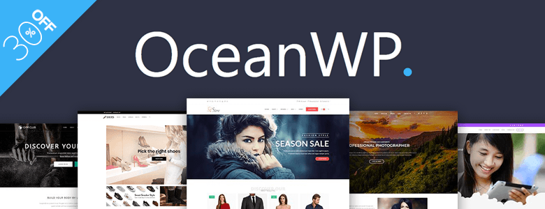 wordpress black friday oceanwp