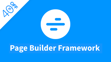 wordpress black friday page builder framework