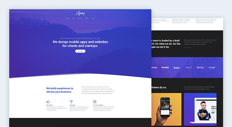 Agency One Page Example