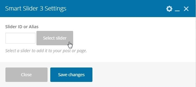 select slider