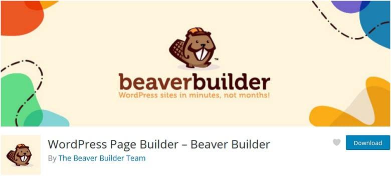 Beaver Builder one of the best free WordPress page builder plugins