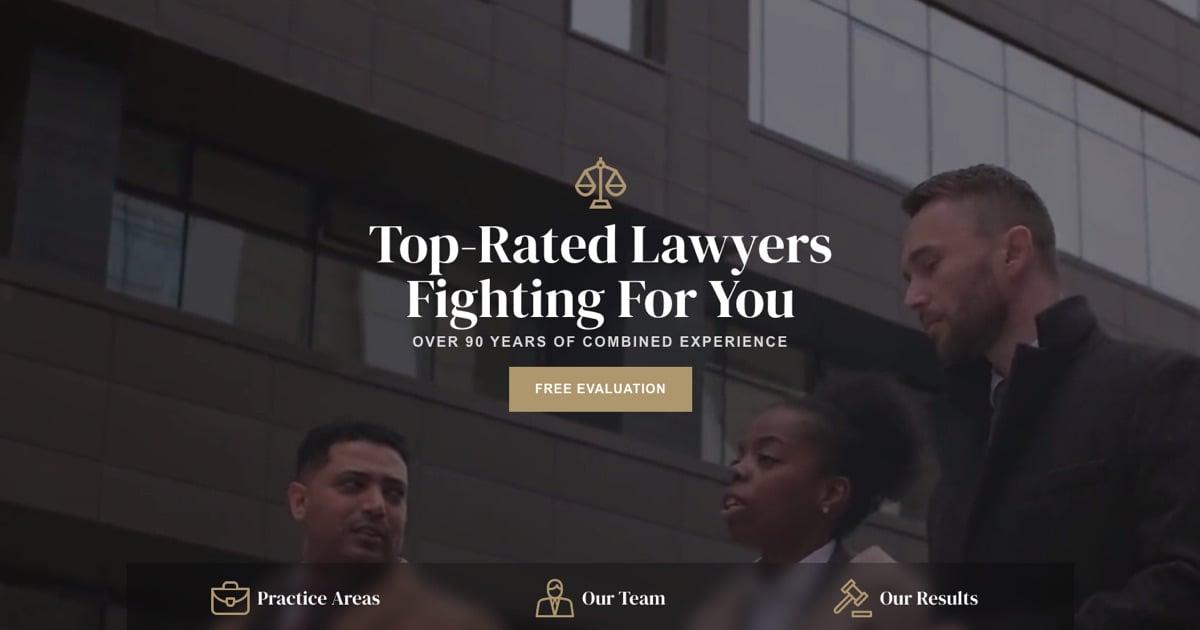 Lawyer Slider