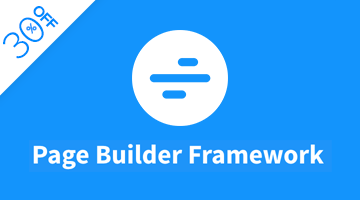 page builder framework deal
