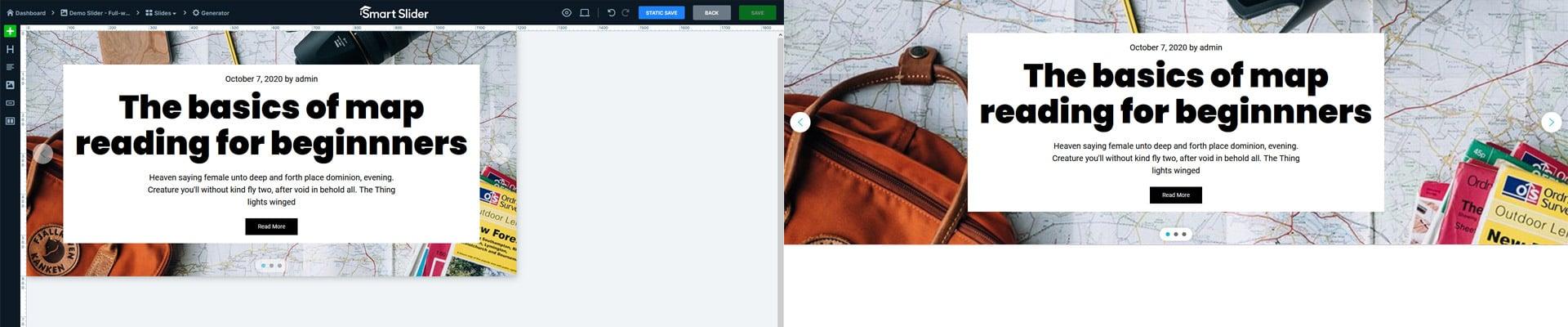 Post Slider in Smart Slider 3