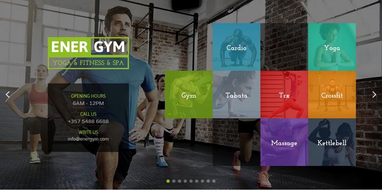 Gym slider