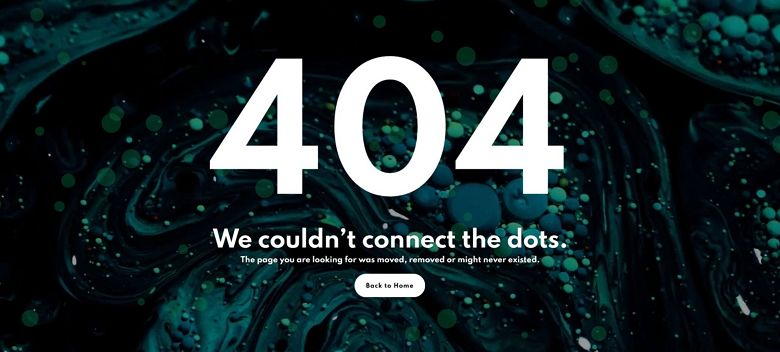 WordPress 404 page template - Video